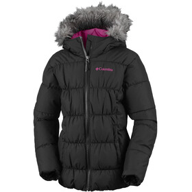 Columbia Gyroslope Jacket Youths Black/Cactus Pink